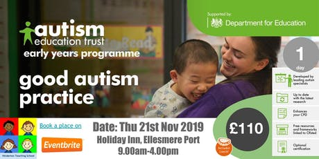 (AET) Early Years - Good Autism Practice tickets