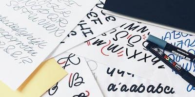 Litery i inne bajery! Warsztaty liternicze z Black Hog Design Studio.