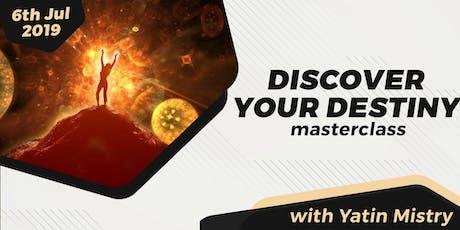 Discover Your Destiny tickets