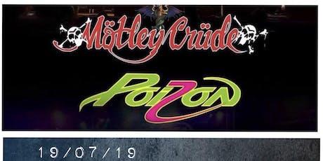 Poizon/ Motley Crude tickets