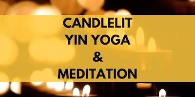 Candlelit Yin Yoga & Meditation