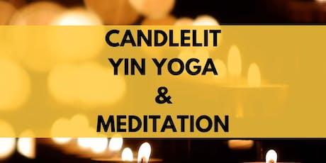 Candlelit Yin Yoga & Meditation tickets