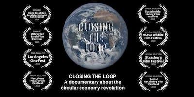 """Proyección """"Closing the loop"""" Documental sobre Economía Circular."""