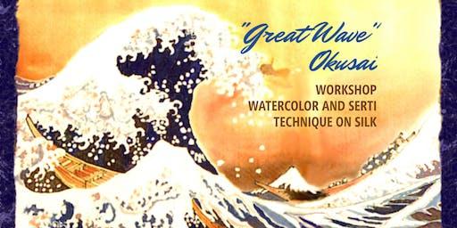 "WORKSHOP ""LA GRANDE ONDA"" di Okusai"