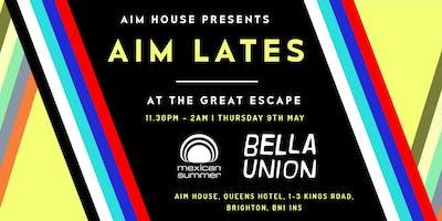 AIM Lates: Mexican Summer x Bella Union