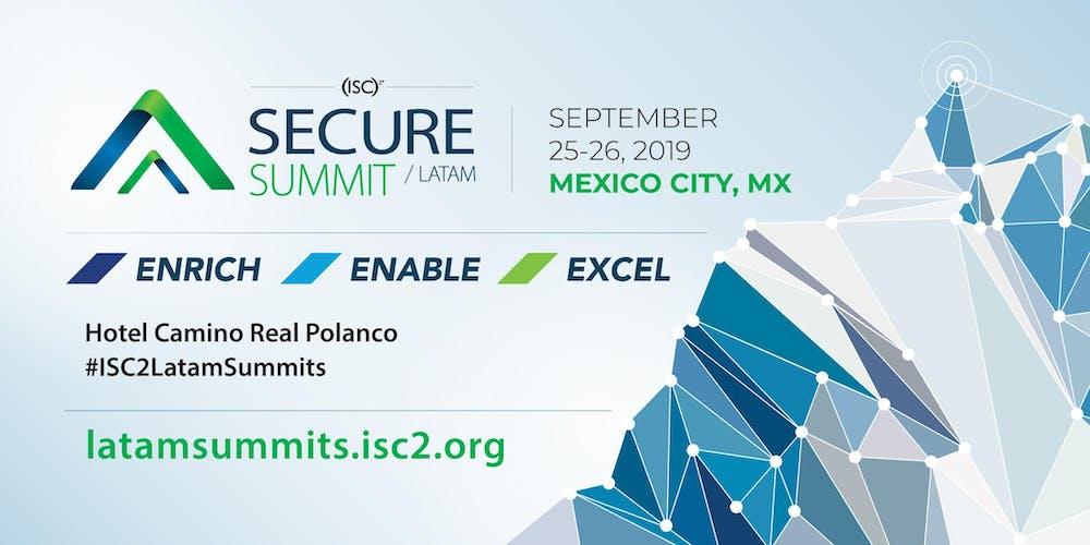 Resultado de imagen de isc2 secure summit latam