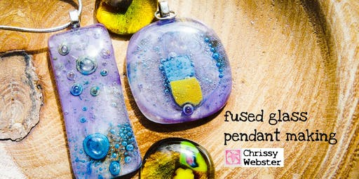 Fused Glass Jewellery Workshop (deposit booking)