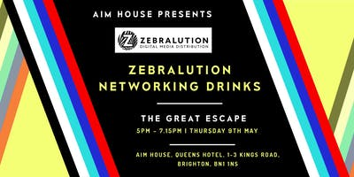 AIM House @ TGE: Zebralution Networking Drinks