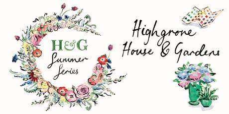 H&G Summer Series: Farrow & Ball and Kitten Grayson at Highgrove tickets