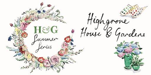 H&G Summer Series: Farrow & Ball and Kitten Grayson at Highgrove