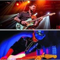 The Jeremiah Johnson Band, Ray Fuller & The Bluesrockers CD Release