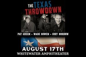 Pat Green w/ Wade Bowen & Cory Morrow