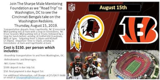 NFL Roadtrip to Washington, DC. Thursday, August 15, 2019