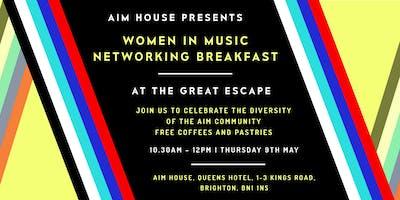 AIM House @ TGE: Women in Music Networking Breakfast