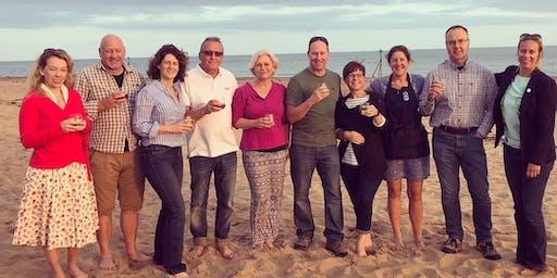 Pi Singles BBQ on Exmouth Beach