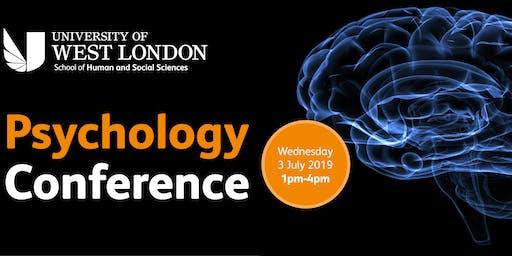 University of West London's Psychology Conference 2019