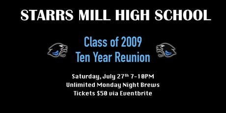 SMHS Class of 2009 Ten Year Reunion tickets