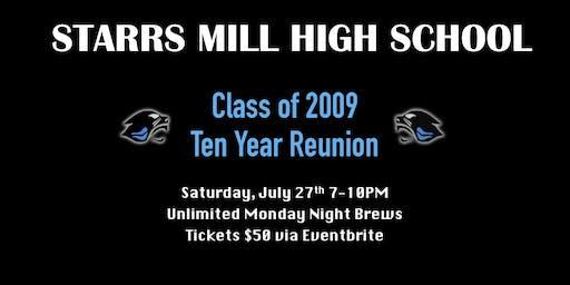 SMHS Class of 2009 Ten Year Reunion
