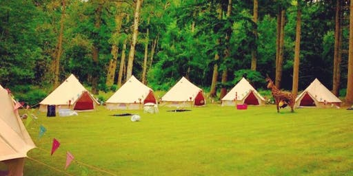 Ben and Catherine's Wedding Bell Tents