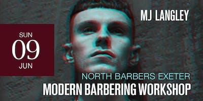 Exeter Modern Barbering Workshop featuring M J Langley