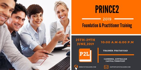 Path2Learn Prince2 Foundation & Practitioner Training | Canberra | June '19 tickets