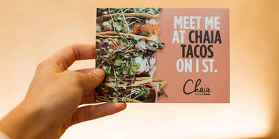 The Running Collaboration | =PR= DC + Chaia Tacos Chinatown