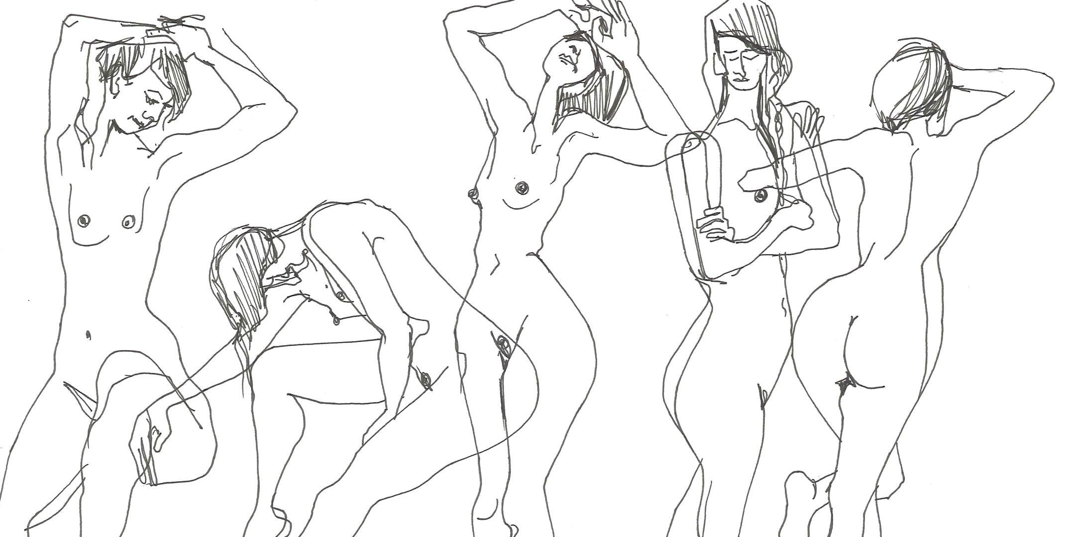 Life Drawing with Bella Franks