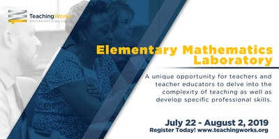 2019 Elementary Mathematics Laboratory