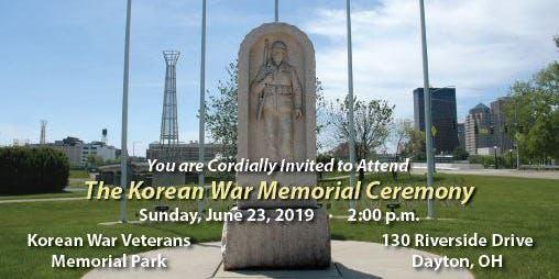 Korean War Memorial Ceremony