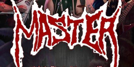 Master / Claustrofobia / Obscene tickets
