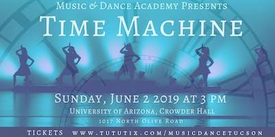2019 Spring Dance Recital: Time Machine!