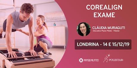 Formação em CoreAlign - Exame - Physio Pilates Balanced Body - Londrina ingressos