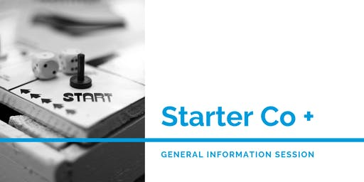 Starter Company Plus - Information Session