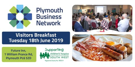 Plymouth Business Network - Visitors Breakfast - Tuesday 18th June tickets