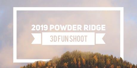 2019 Powder Ridge 3D Fun Shoot  tickets
