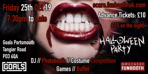 Funbooth Adult Halloween Party 2019