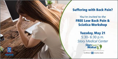 FREE Low Back Pain and Sciatica Workshop
