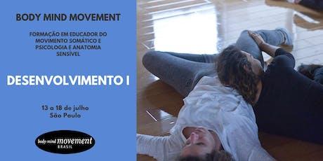 Módulo Desenvolvimento I - Body Mind Movement São Paulo ingressos
