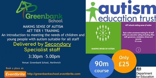 AET Secondary - Making Sense of Autism Training