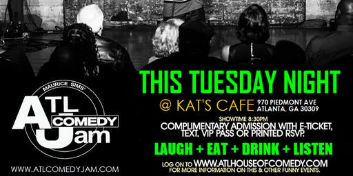 ATL Comedy Jam @ Kats Cafe