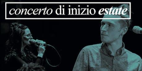 CONCERTO DI INIZIO ESTATE - 21/06/2019 biglietti