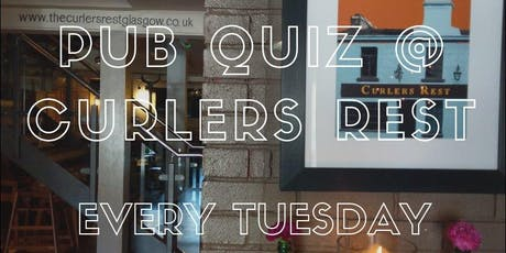 Pub Quiz at Curlers Rest tickets