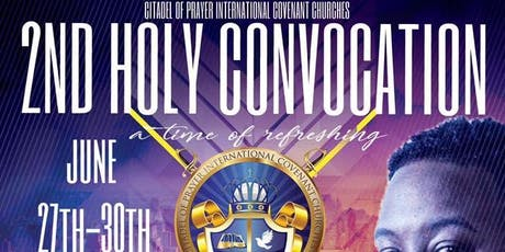 COPICC Holy Convocation 2019 tickets