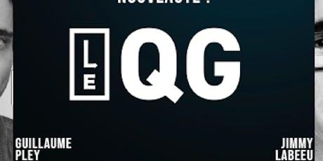 LE QG présenté par Guillaume Pley et Jimmy Labeeu billets