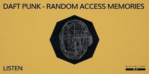 Daft Punk - Random Access Memories : LISTEN