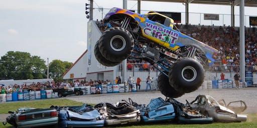 MONSTER TRUCKS ARE BACK! Thunder Racing Series Summer Nationals