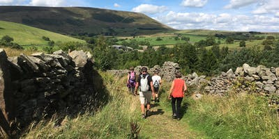 Pendle Walking Festival – Walk 8. Foulridge to Pendle's Trig