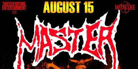 MASTER w/ CLAUSTROFOBIA and DUSK at Nomads tickets