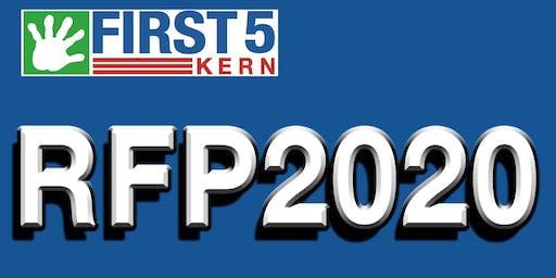 First 5 RFP 2020 Kern Bidder's Conference #1
