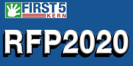 First 5 Kern RFP 2020 Bidder's Conference #2 tickets